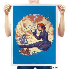 A Not Snow White Widow - Prints - Posters - RIPT Apparel