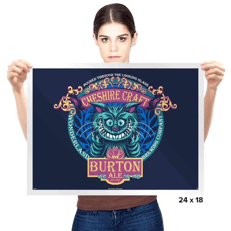 Cheshire Craft - Prints - Posters - RIPT Apparel