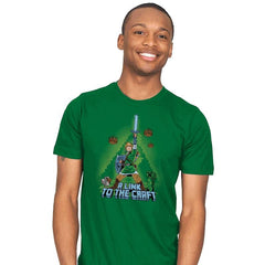 A Link to the Craft - Mens - T-Shirts - RIPT Apparel