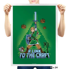 A Link to the Craft - Prints - Posters - RIPT Apparel