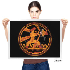 Greeku - Prints - Posters - RIPT Apparel