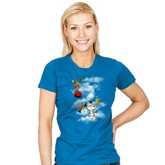 UP Peanuts - Womens - T-Shirts - RIPT Apparel