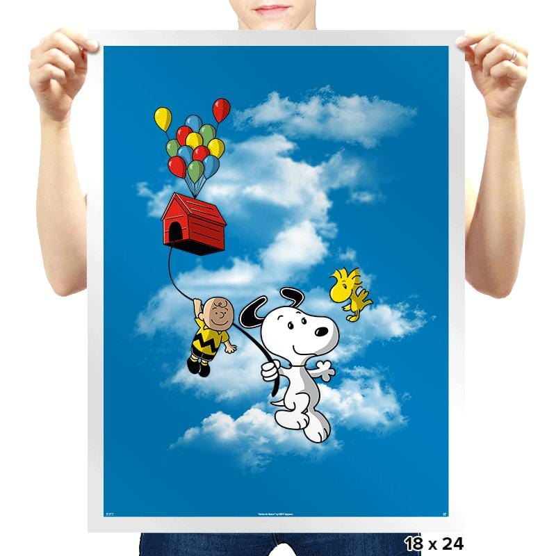 UP Peanuts - Prints - Posters - RIPT Apparel