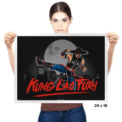 Kung Lao Fury - Prints - Posters - RIPT Apparel