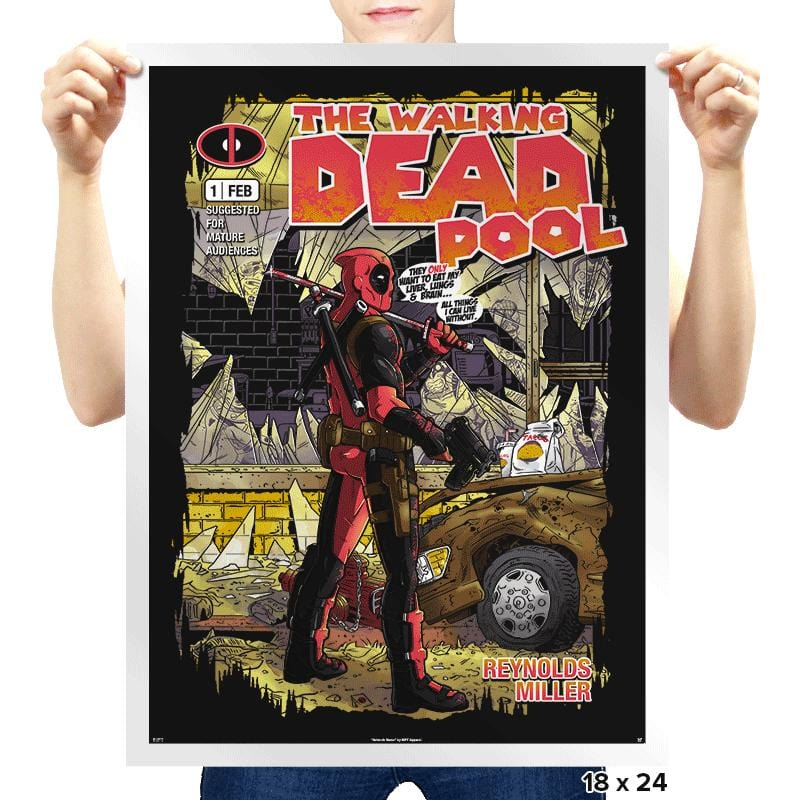 The Walking Merc - Issue 1 - Prints - Posters - RIPT Apparel