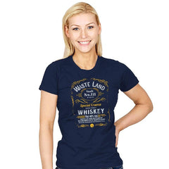 Wasteland Whiskey - Womens - T-Shirts - RIPT Apparel