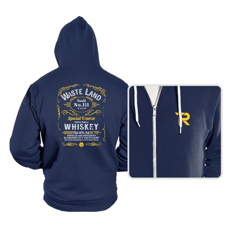 Wasteland Whiskey - Hoodies - Hoodies - RIPT Apparel