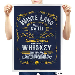 Wasteland Whiskey - Prints - Posters - RIPT Apparel
