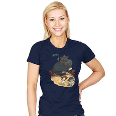 Spirited Falls - Womens - T-Shirts - RIPT Apparel