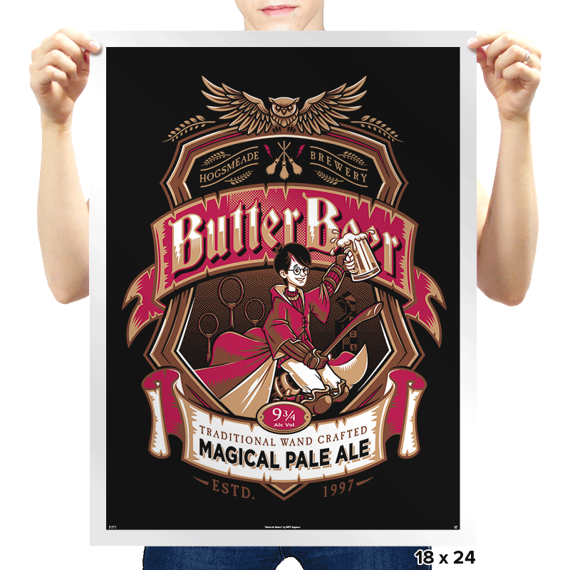 Magical Pale Ale - Prints - Posters - RIPT Apparel