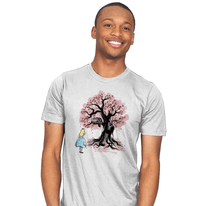 The Cheshire's Tree Sumi-e - Mens - T-Shirts - RIPT Apparel