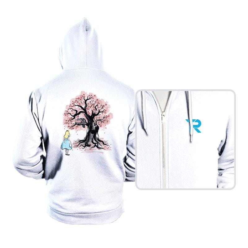 The Cheshire's Tree Sumi-e - Hoodies - Hoodies - RIPT Apparel