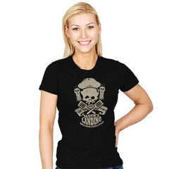 Sloth's Landing - Womens - T-Shirts - RIPT Apparel