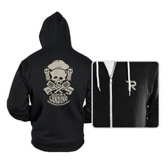 Sloth's Landing - Hoodies - Hoodies - RIPT Apparel