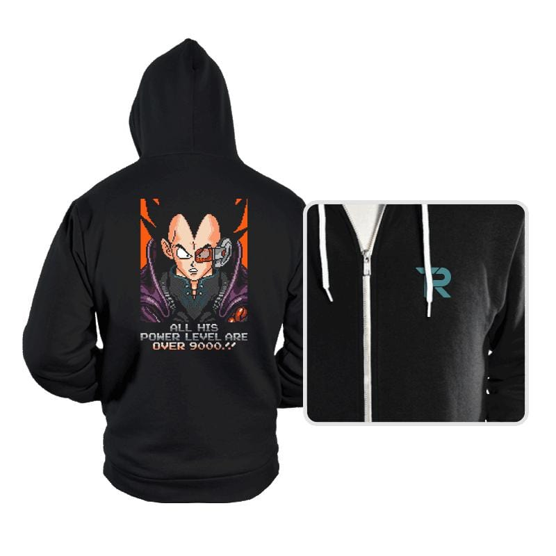 OVER 9000!! - Hoodies - Hoodies - RIPT Apparel