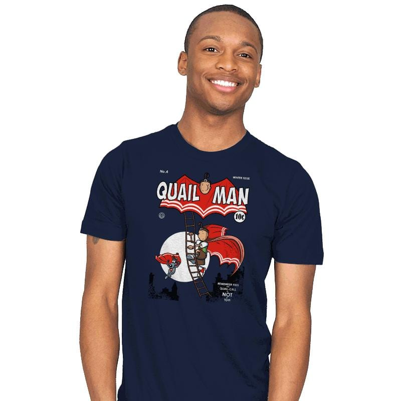 The Dark Quail - Mens - T-Shirts - RIPT Apparel