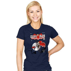 The Dark Quail - Womens - T-Shirts - RIPT Apparel