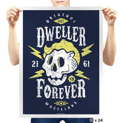 Dweller Forever - Prints - Posters - RIPT Apparel