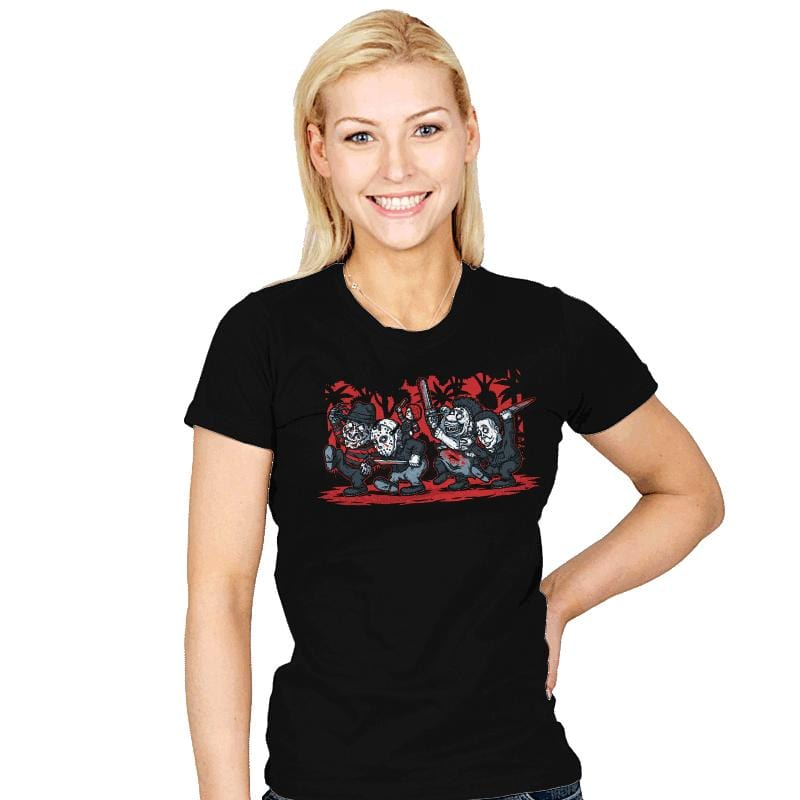 Where the Slashers Are - Womens - T-Shirts - RIPT Apparel