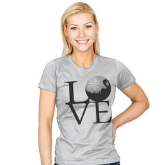 Dark Star LOVE - Womens - T-Shirts - RIPT Apparel