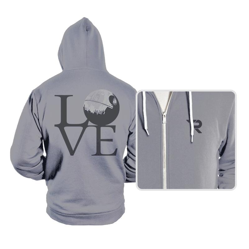 Dark Star LOVE - Hoodies - Hoodies - RIPT Apparel