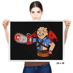 Chainsaw Boy - Prints - Posters - RIPT Apparel
