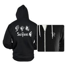 The Saiyans - Hoodies - Hoodies - RIPT Apparel