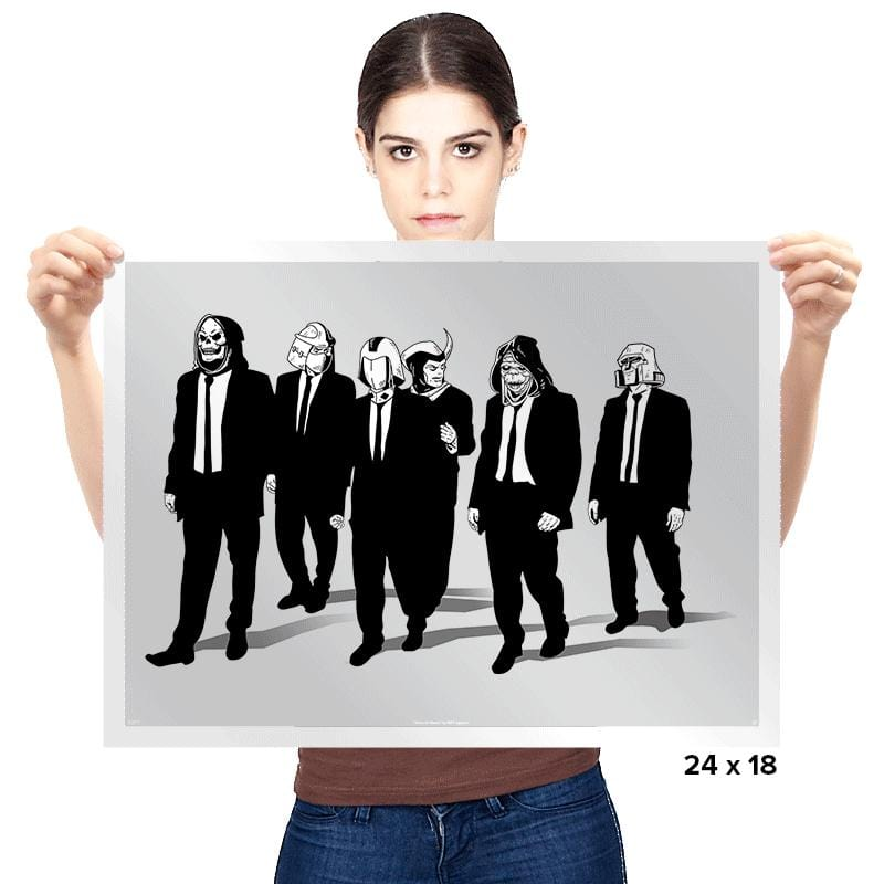 Reservoir Foes - Prints - Posters - RIPT Apparel
