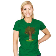 Grow Up! Magic Tree - Womens - T-Shirts - RIPT Apparel