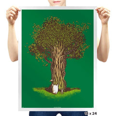 Grow Up! Magic Tree - Prints - Posters - RIPT Apparel