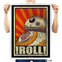 Roll! - Prints - Posters - RIPT Apparel