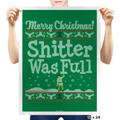Shitter's Full - Prints - Posters - RIPT Apparel