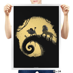 hakuna nightmare - Prints - Posters - RIPT Apparel