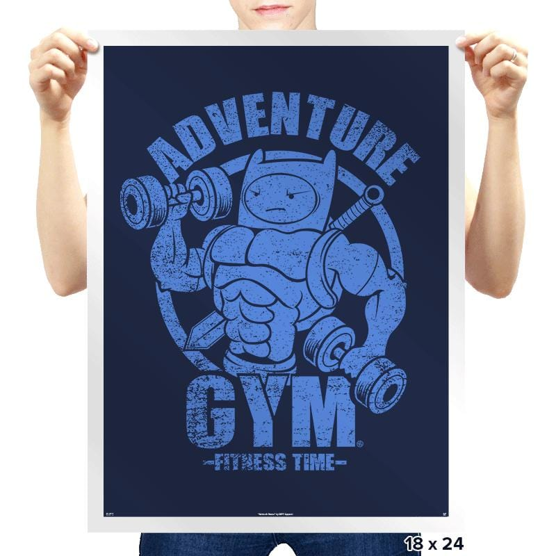 ADVENTURE GYM - Prints - Posters - RIPT Apparel