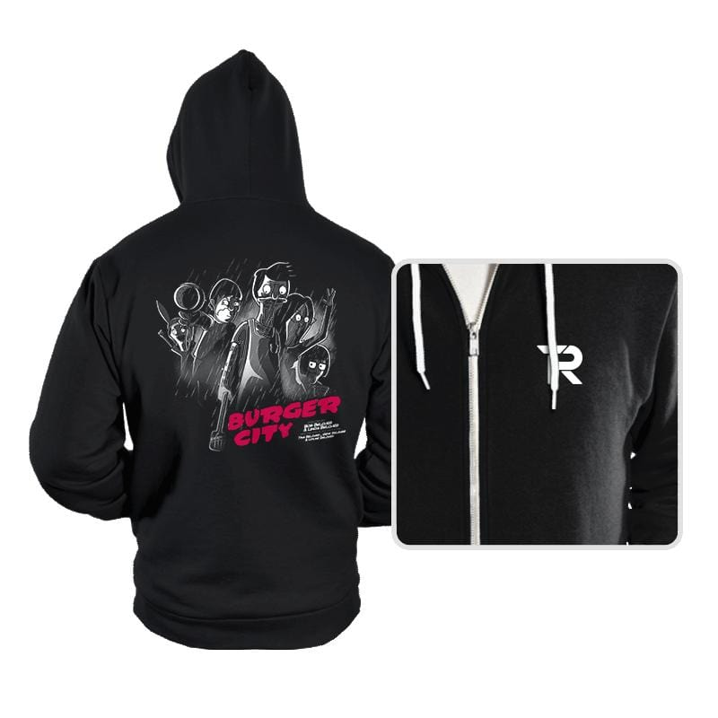 Burger City - Hoodies - Hoodies - RIPT Apparel