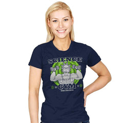 Science Gym - Womens - T-Shirts - RIPT Apparel