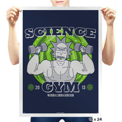Science Gym - Prints - Posters - RIPT Apparel