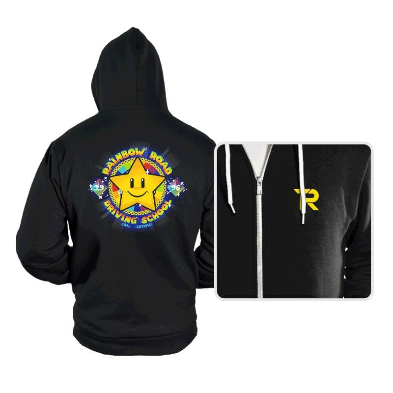 RR Driving School - Hoodies - Hoodies - RIPT Apparel