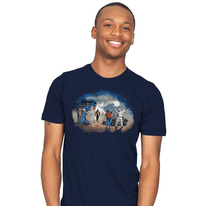 Somewhere in Time - Mens - T-Shirts - RIPT Apparel