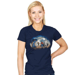 Somewhere in Time - Womens - T-Shirts - RIPT Apparel