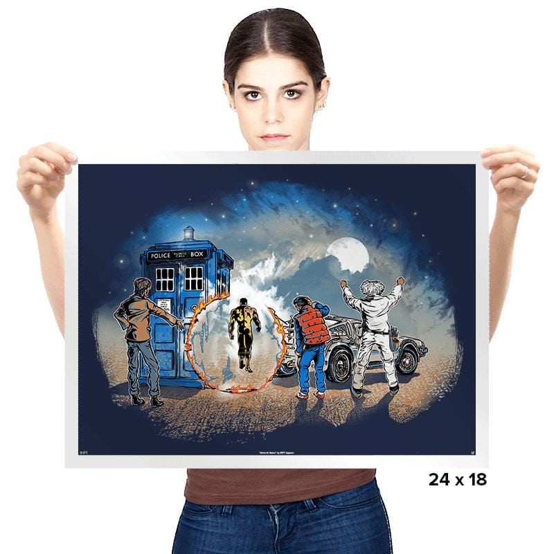 Somewhere in Time - Prints - Posters - RIPT Apparel