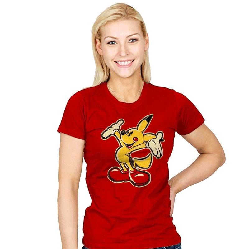 Pika Mouse - Womens - T-Shirts - RIPT Apparel