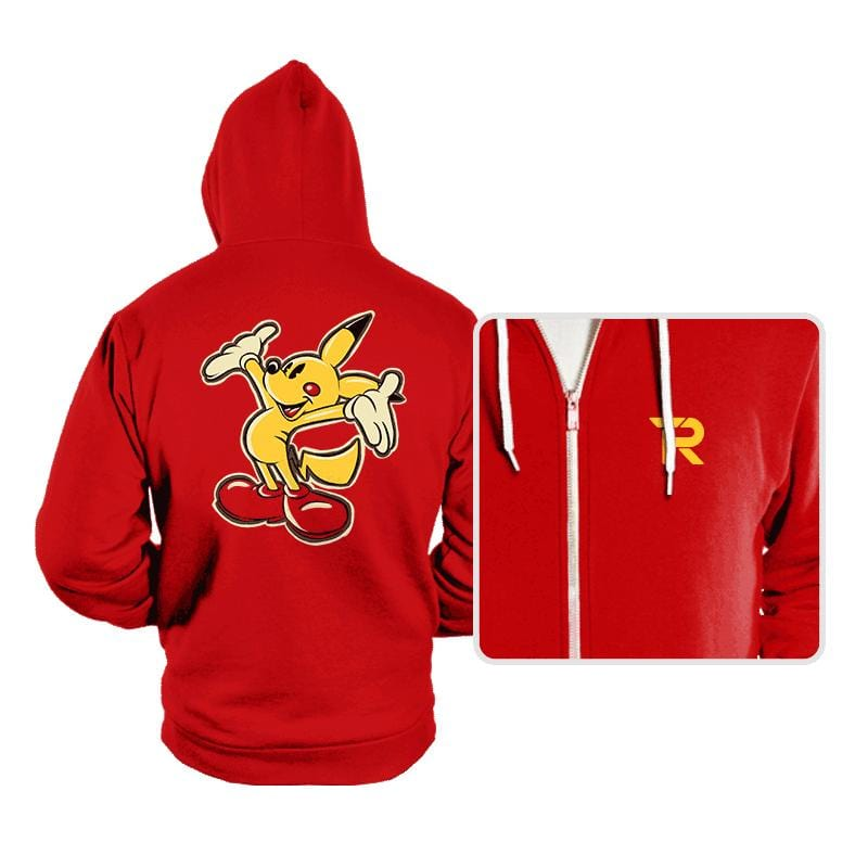 Pika Mouse - Hoodies - Hoodies - RIPT Apparel