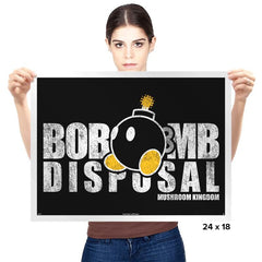 Bob-omb Disposal - Prints - Posters - RIPT Apparel