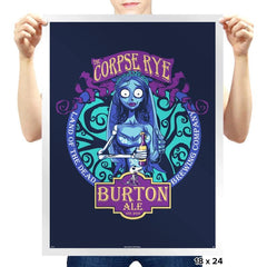 The Corpse Rye - Prints - Posters - RIPT Apparel