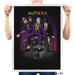 Battyjuice Exclusive - Prints - Posters - RIPT Apparel