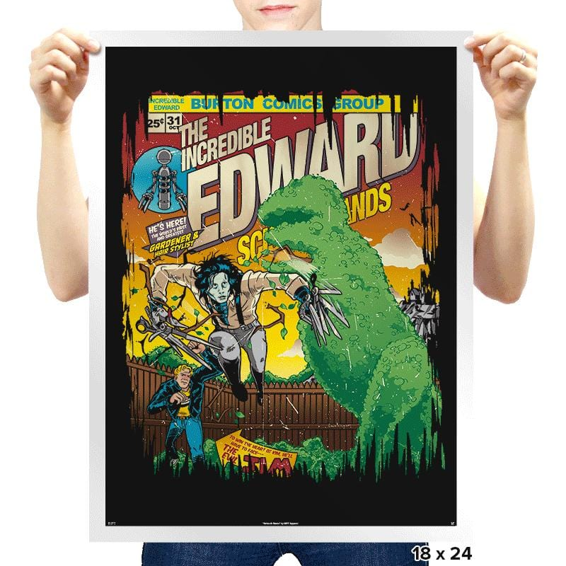 The Incredible Edward Exclusive - Prints - Posters - RIPT Apparel