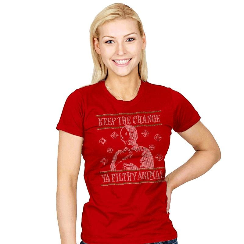 Keep The Change - Womens - T-Shirts - RIPT Apparel
