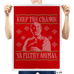 Keep The Change - Prints - Posters - RIPT Apparel