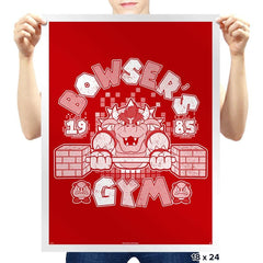 Bowser's Gym - Prints - Posters - RIPT Apparel